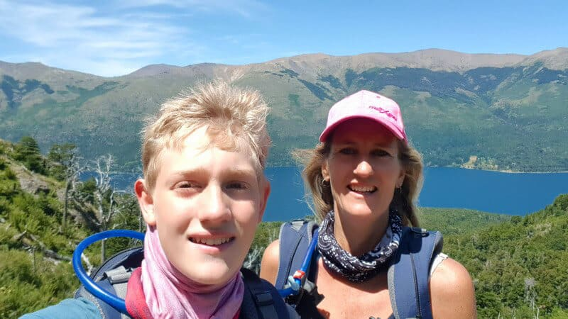 Hike to Refugio Frey in Argentina
