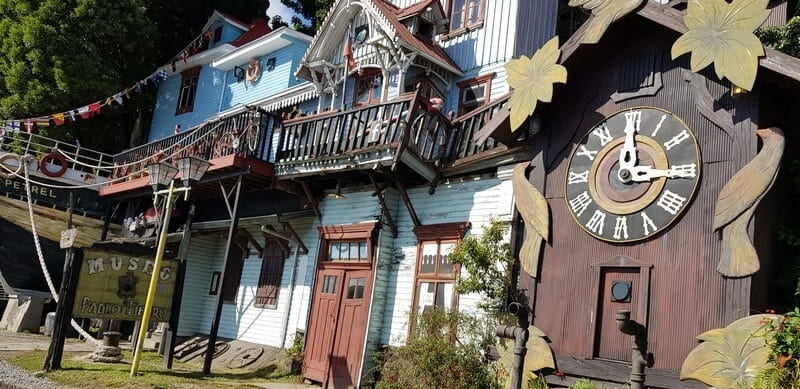 Chilean Architecture in Puerto Varas in Chile