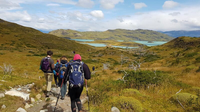 Stunning hikes in torres del paine national park